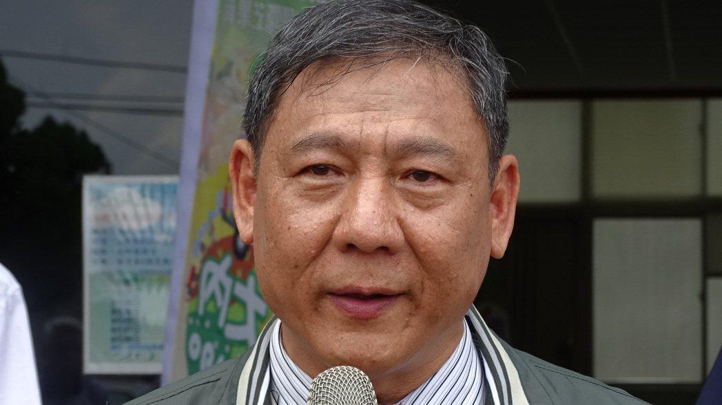 台南大內區長李賢村。記者謝進盛/攝影