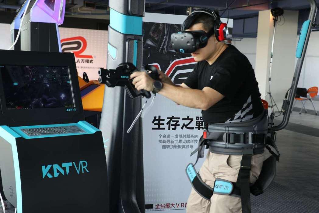 全台最大、占地超過250坪的虛擬實境體驗館「VR Formula(VR方程式)」...