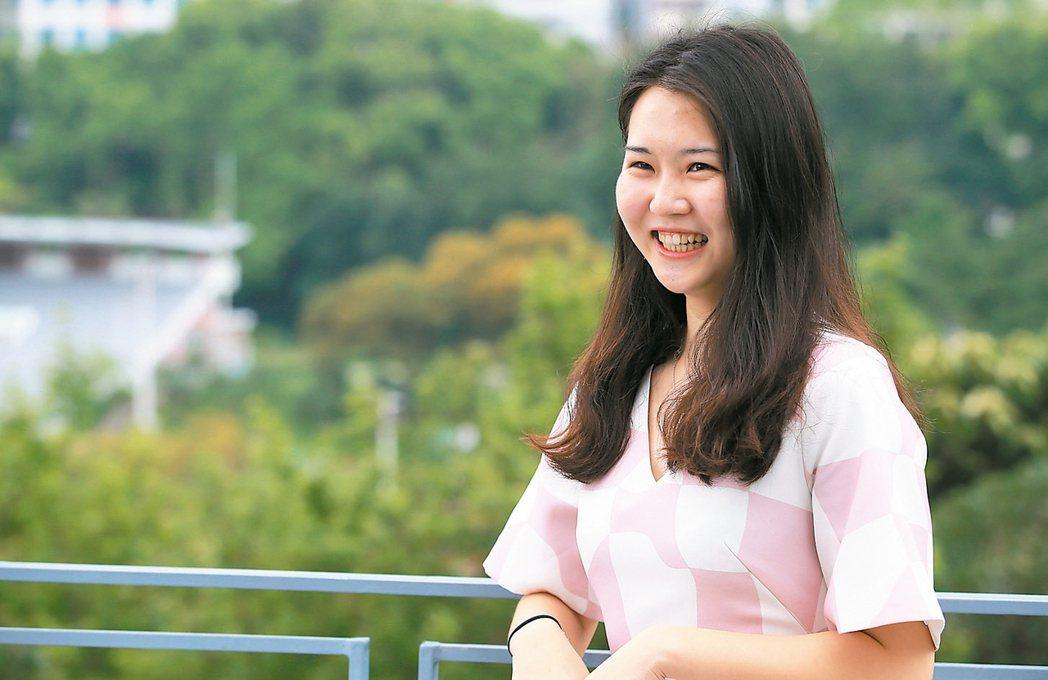 香港中文大學陸生李杭蔚。 記者潘俊宏、何定照/香港攝影