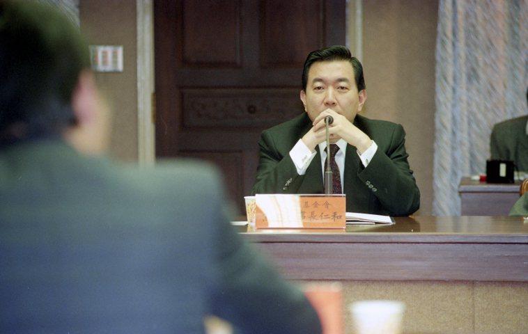 前海基會副董事長、僑委會委員長焦仁和。 本報資料照片
