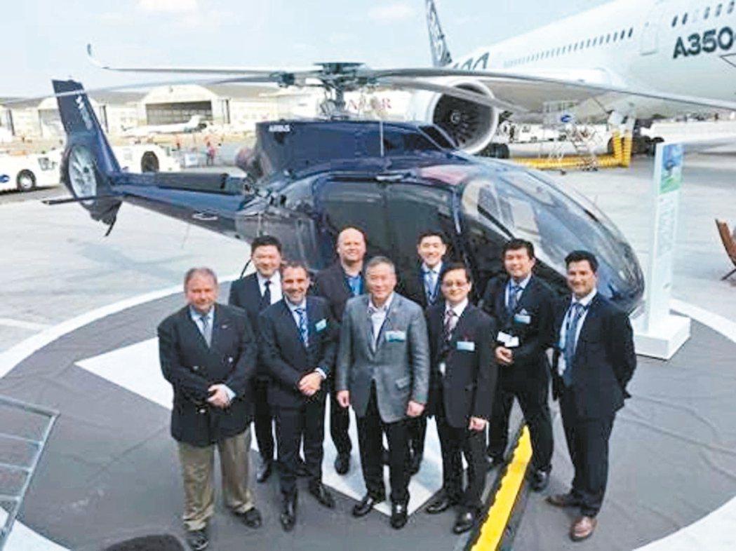 中租控股近年飛機租賃業務發展快速,已決定自組機隊管理團隊,自行解決相關維護管理問...