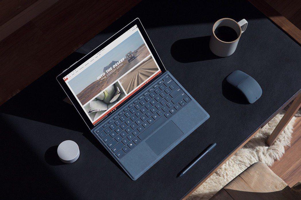 新一代Surface Pro搭載12.3吋PixelSense觸控螢幕,並支援更...