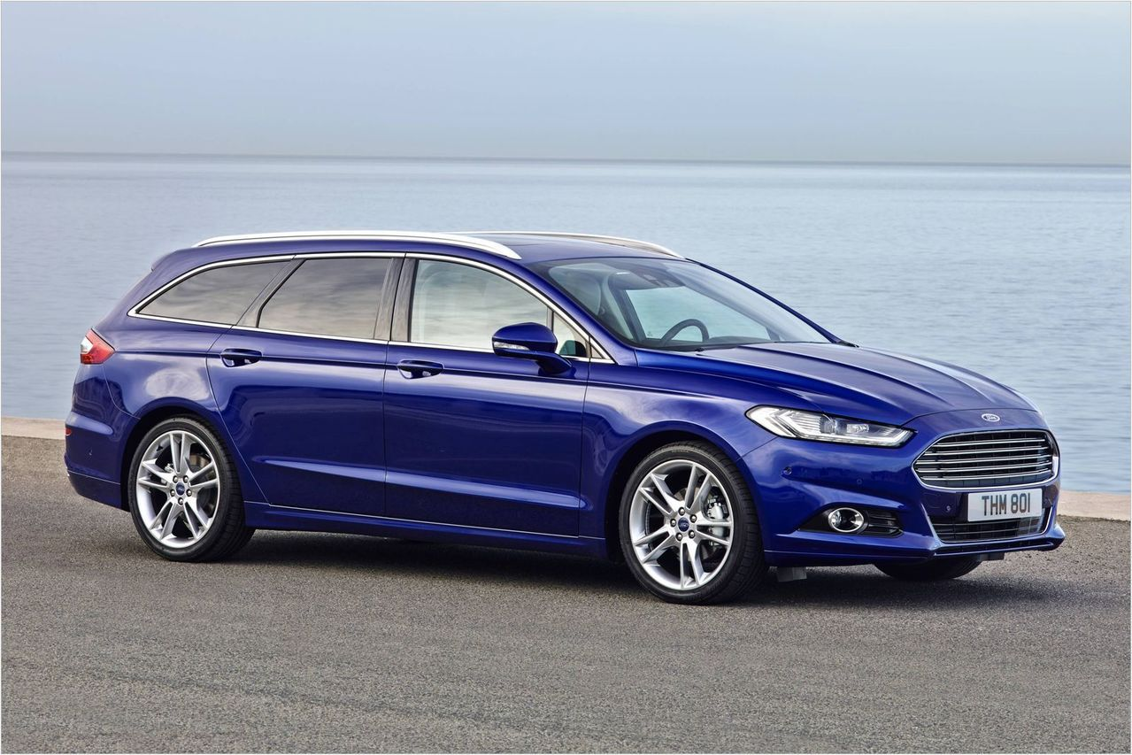 Ford Mondeo Wagon。 圖/Ford提供