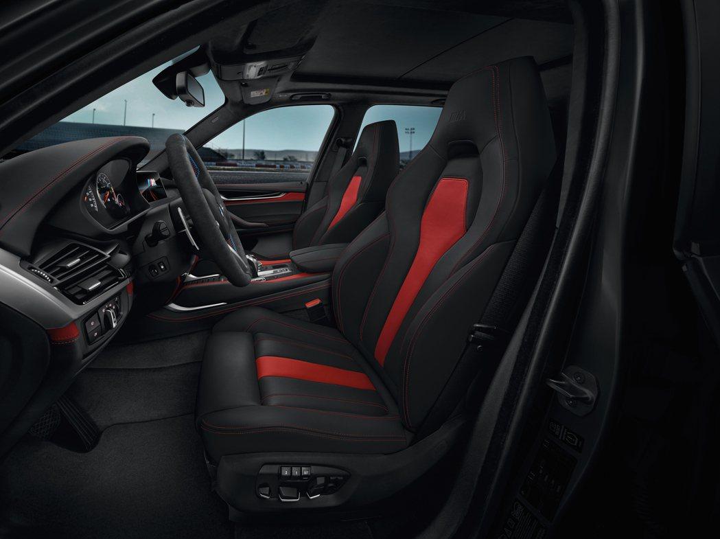 跑車化電動座椅。圖/BMW提供