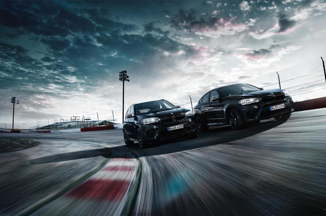 BMW X5 M與X6 M推出特別版本「Black Fire Edition」。圖/BMW提供