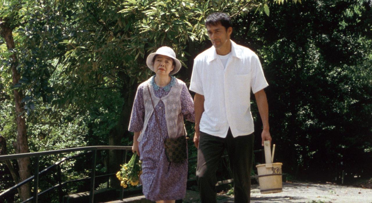 母親與兒子。圖/《橫山家之味》劇照