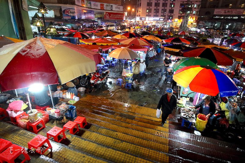 大叻夜市。 攝影/賴勳毅
