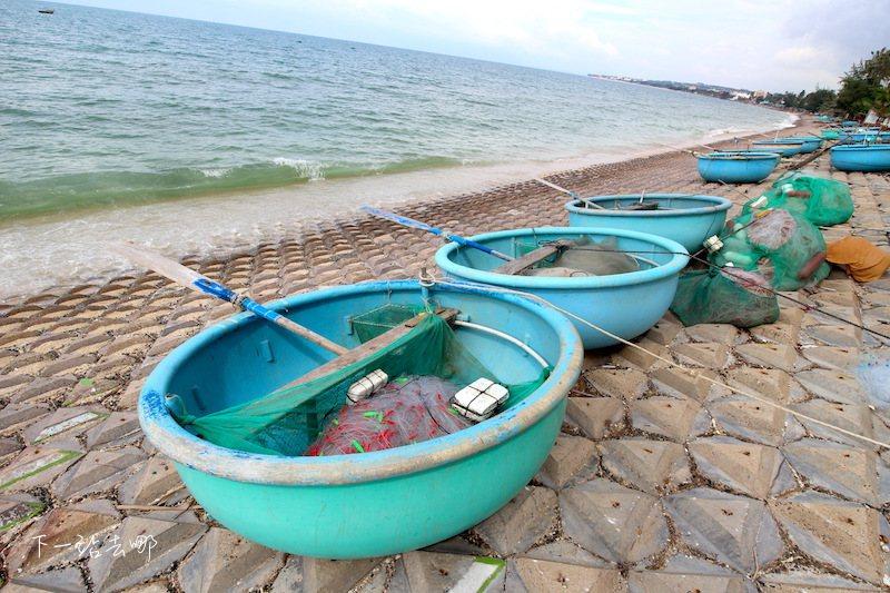 當地人用來捕魚的小船。 攝影/賴勳毅