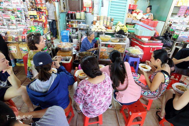 越南小吃攤。 攝影/賴勳毅
