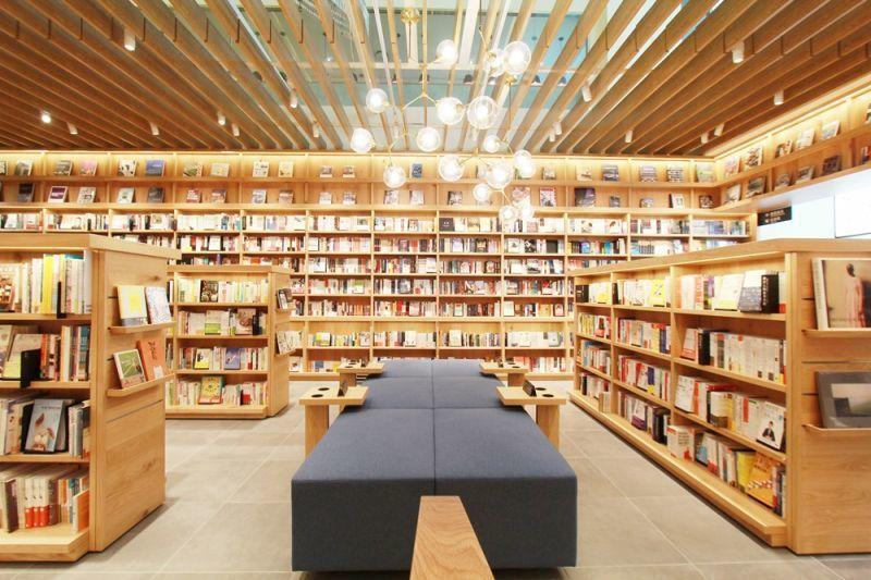 蔦屋書店有全球最美20大書店之一的美名。(圖/雄獅資料庫)
