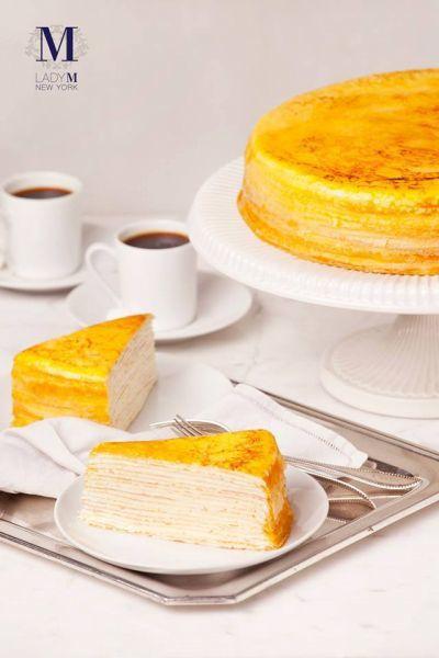 法式經典千層蛋糕。(圖/Lady M Taiwan FB)