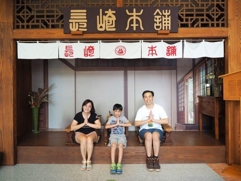 館內特別復刻日式「長崎本舖」場景,一起來拍張合照做紀念。(攝影/劉宸嘉)
