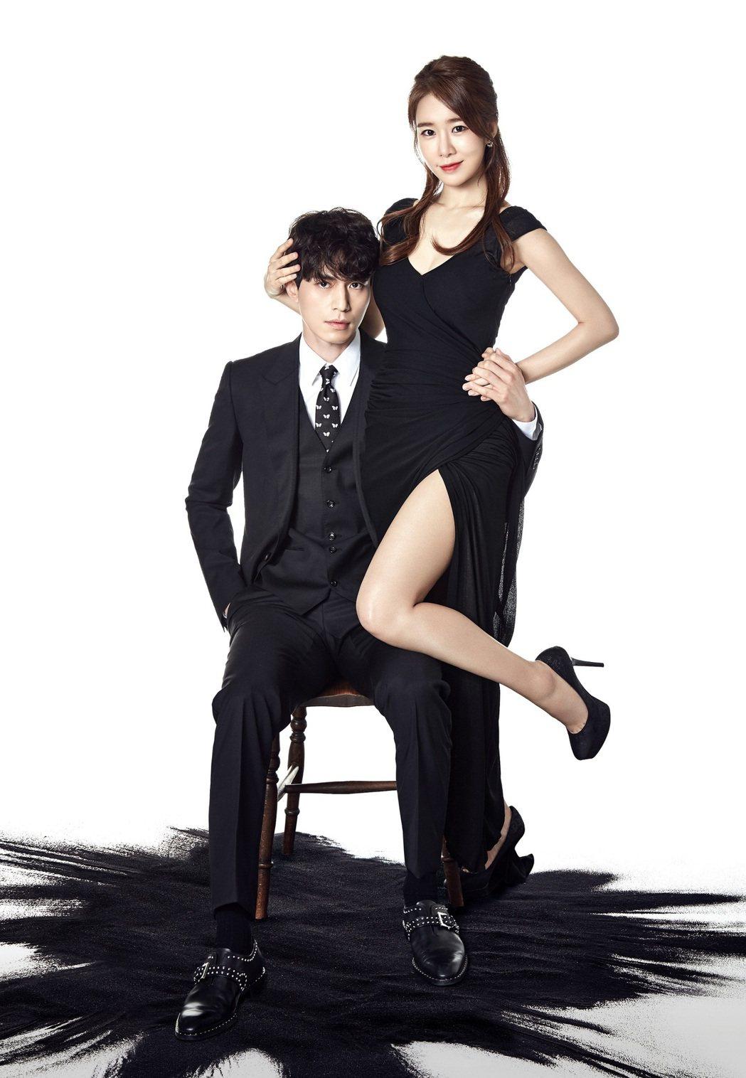 劉寅娜在劇中與李棟旭配對。圖/衛視中文台提供