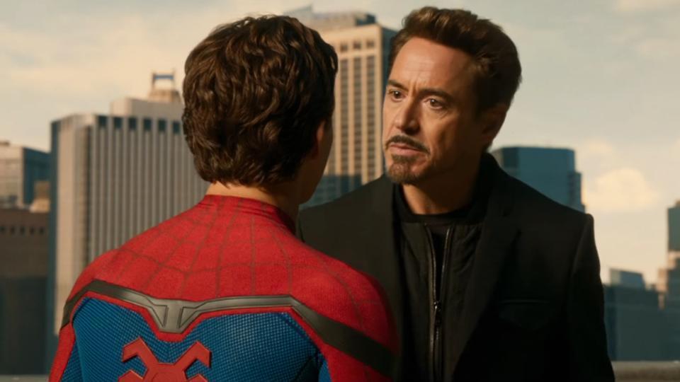 小勞勃道尼在「蜘蛛人:返校日」有參演。圖/翻攝自Youtube