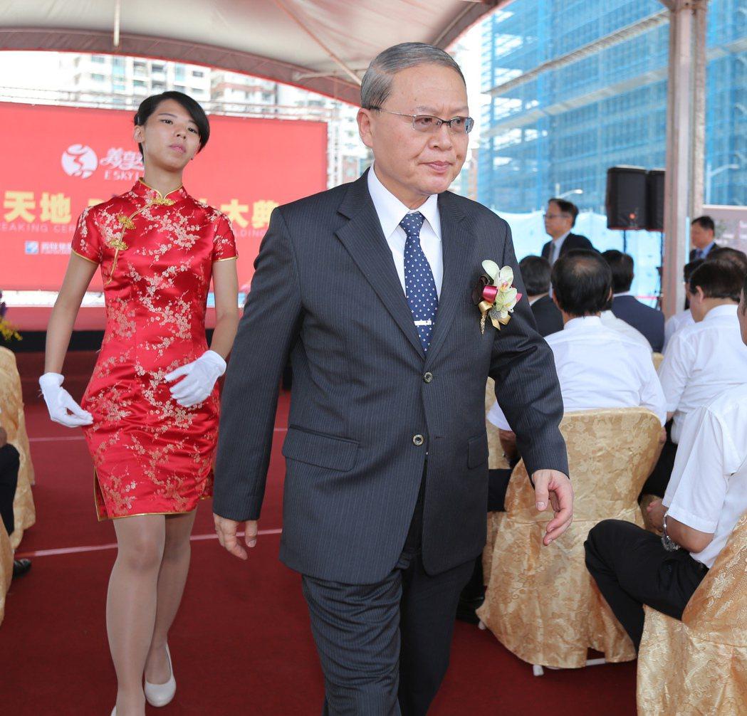 義联集團總經理吳林茂。記者劉學聖/攝影