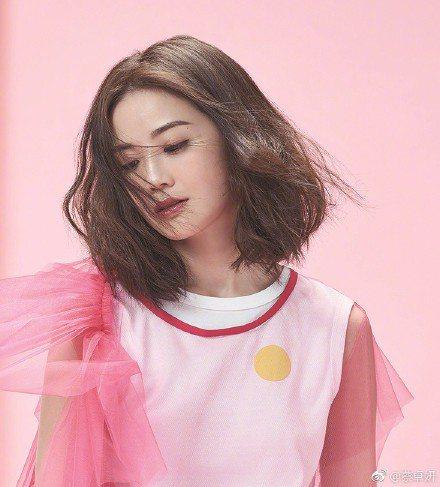 蔡卓妍新戀情疑似曝光。圖取自微博