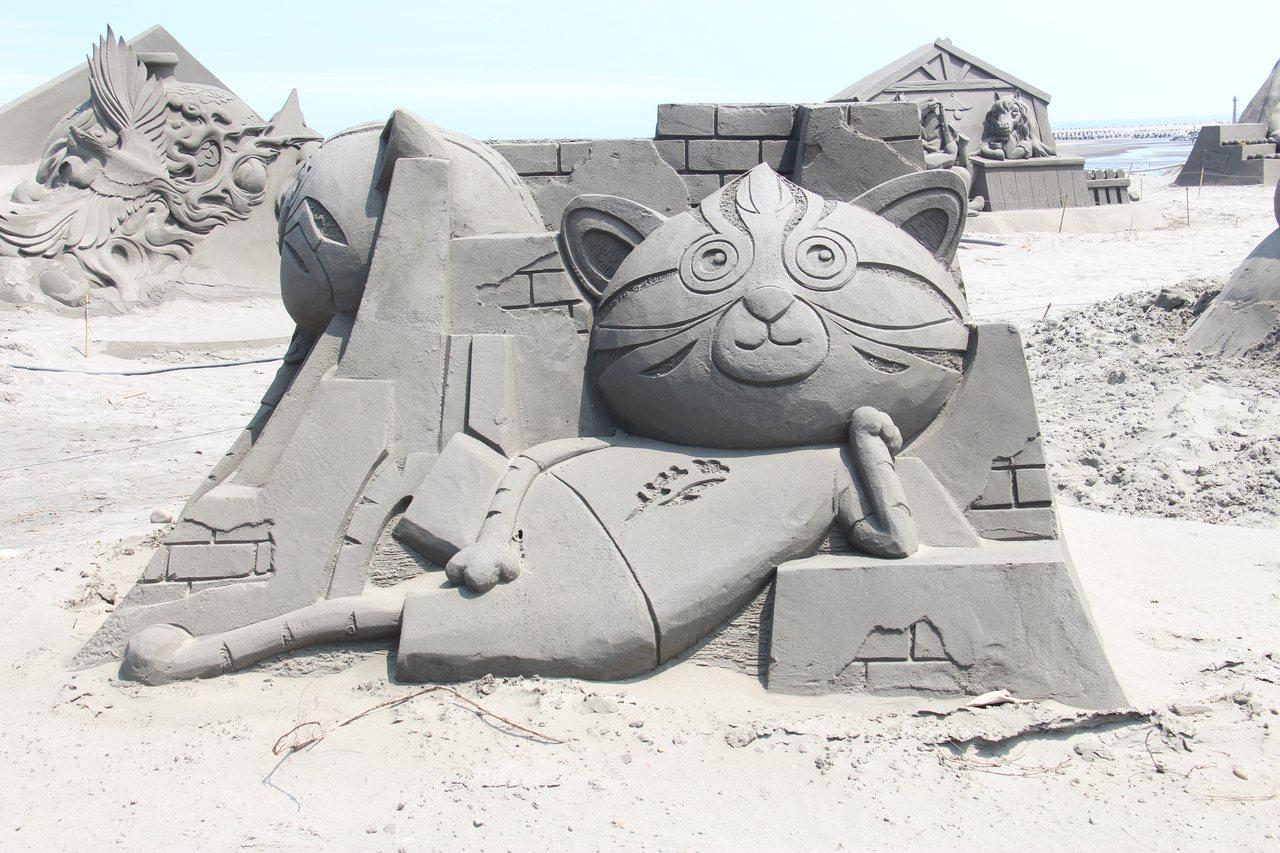 今年的沙雕將有22座中大型沙雕,再加上未來10座沙雕競賽選手所創作的沙雕作品,預...