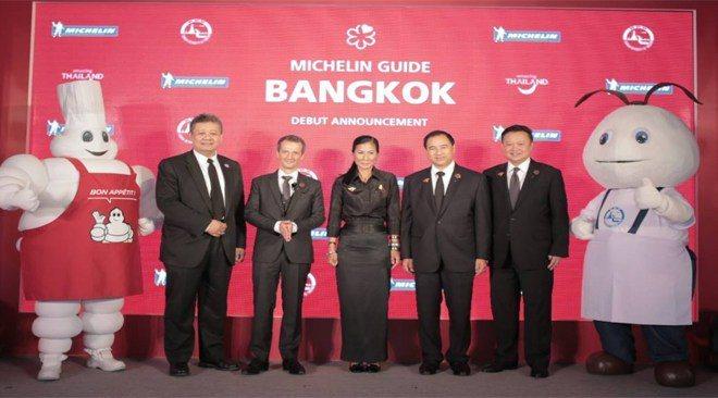 第一期曼谷米其林指南即將在今年底發行。圖/泰國觀光局提供