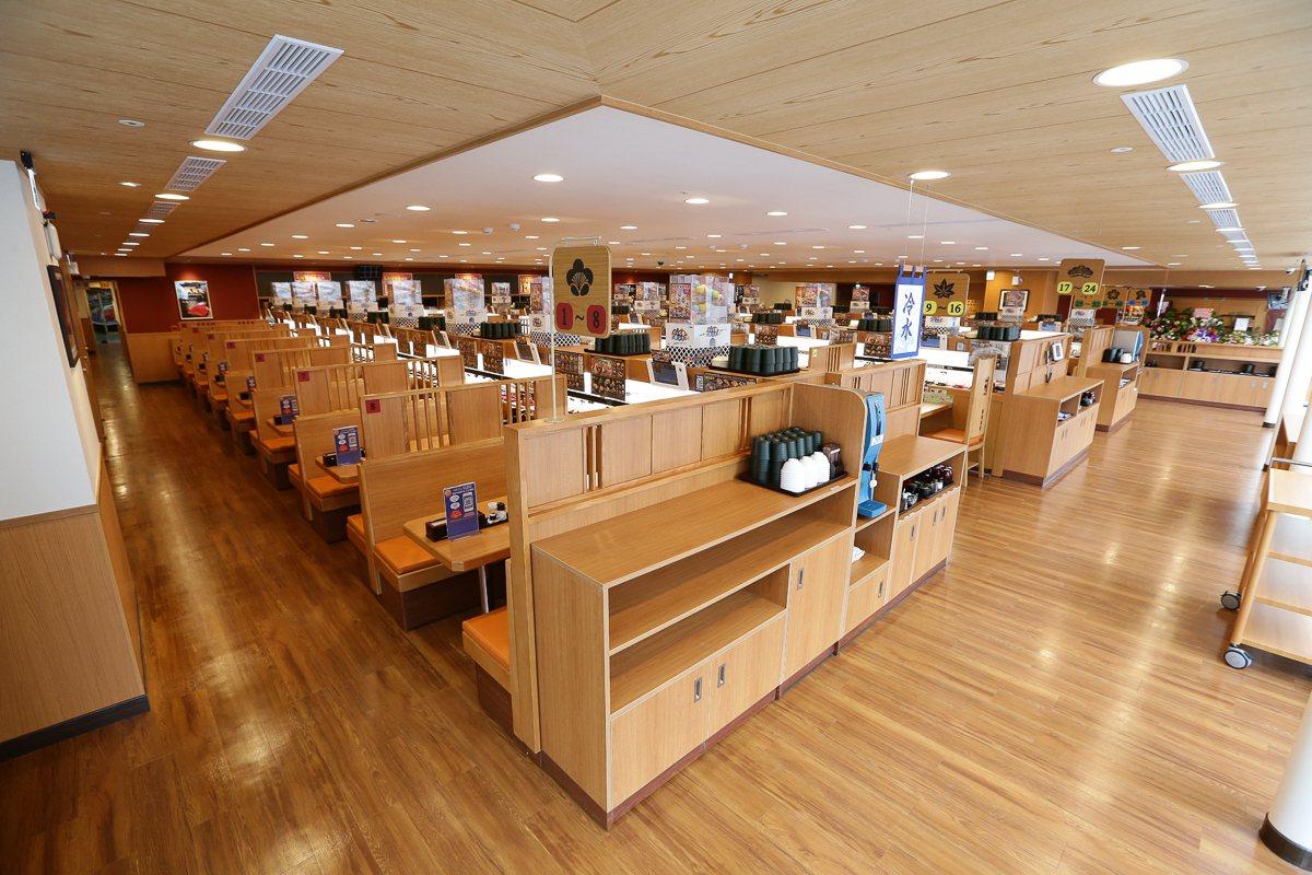 全球旗艦店將在台北館前路開幕。圖/藏壽司提供