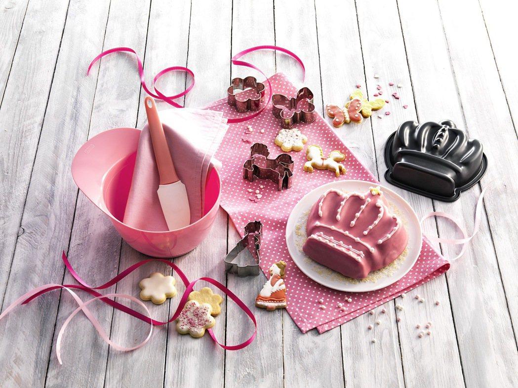 兒童專用烘焙禮合組(公主)。圖/KAISER提供