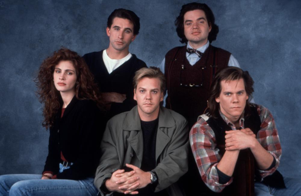 舊版「別闖陰陽界」主角包括茱莉亞羅勃茲(左起)、威廉鮑德溫、基佛蘇特蘭、奧利佛普...