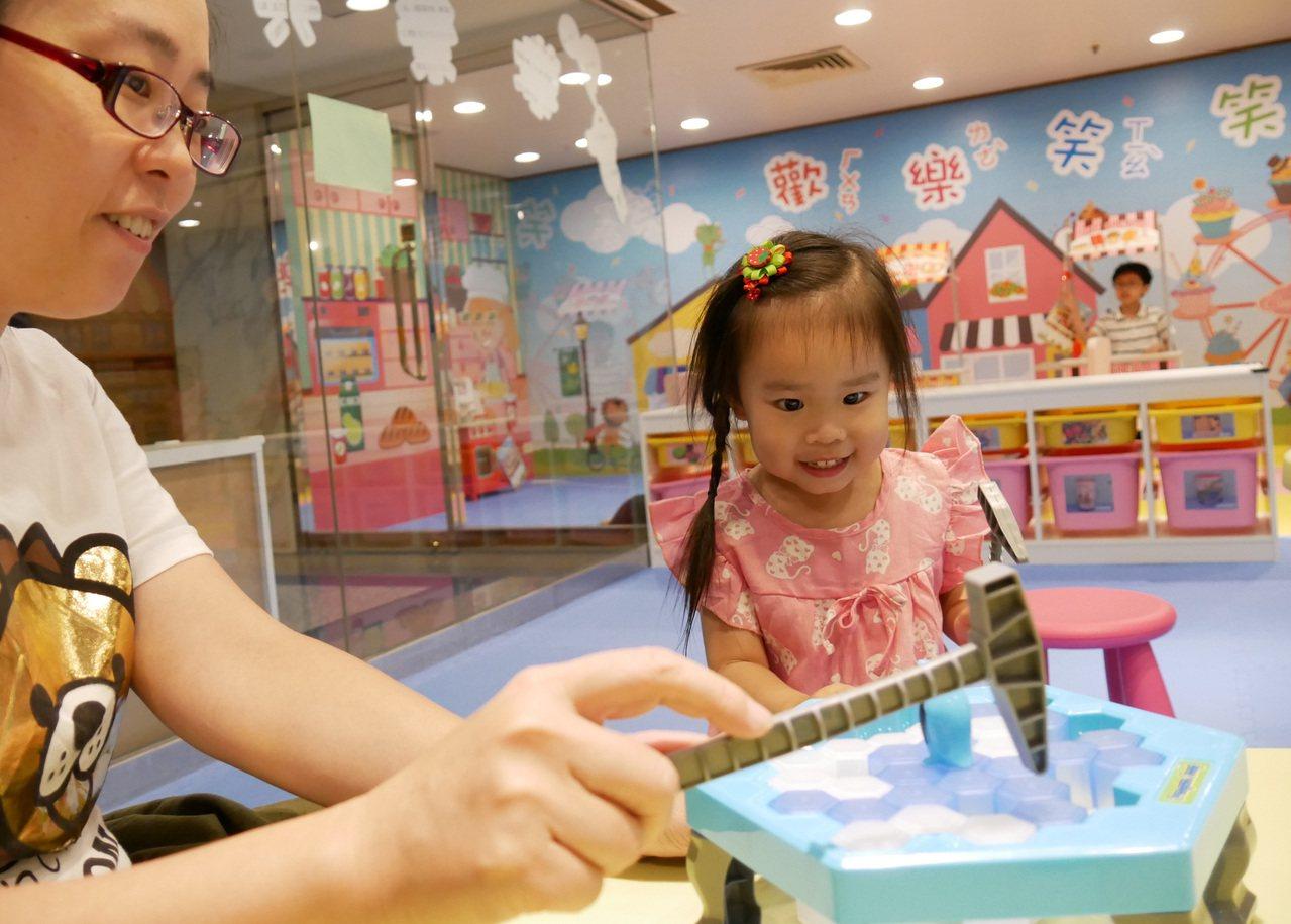 從小小孩到大人皆可暢玩的桌遊區。圖/長榮桂冠(台中)提供