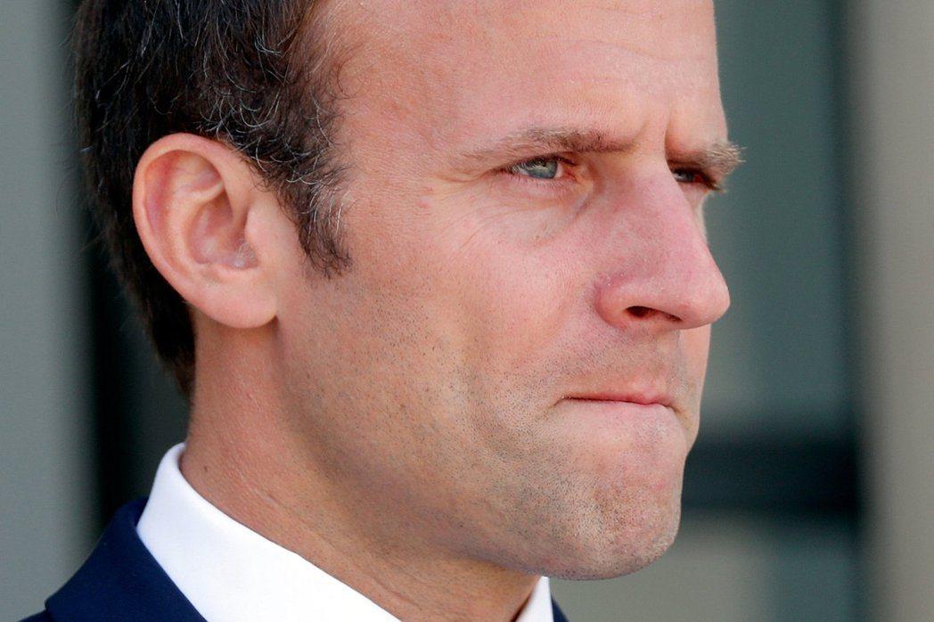法國總統馬克宏。(路透)