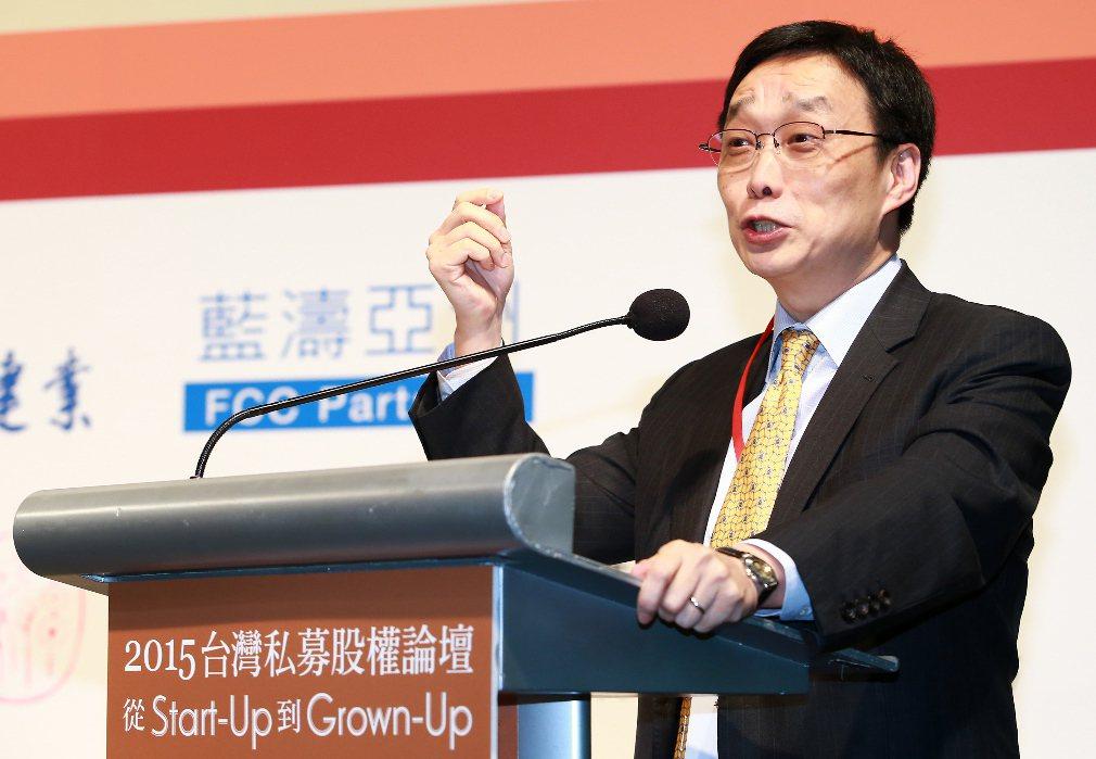 郭明鑑接任國泰世華銀行董事長。 聯合報系資料照片/記者陳柏亨攝影