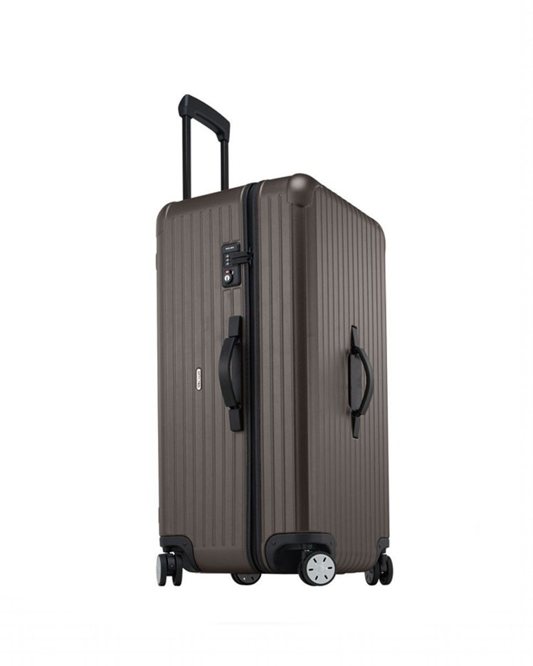 RIMOWA SALSA SPORTY消光銅大型運動旅行箱,約19,500元。圖...