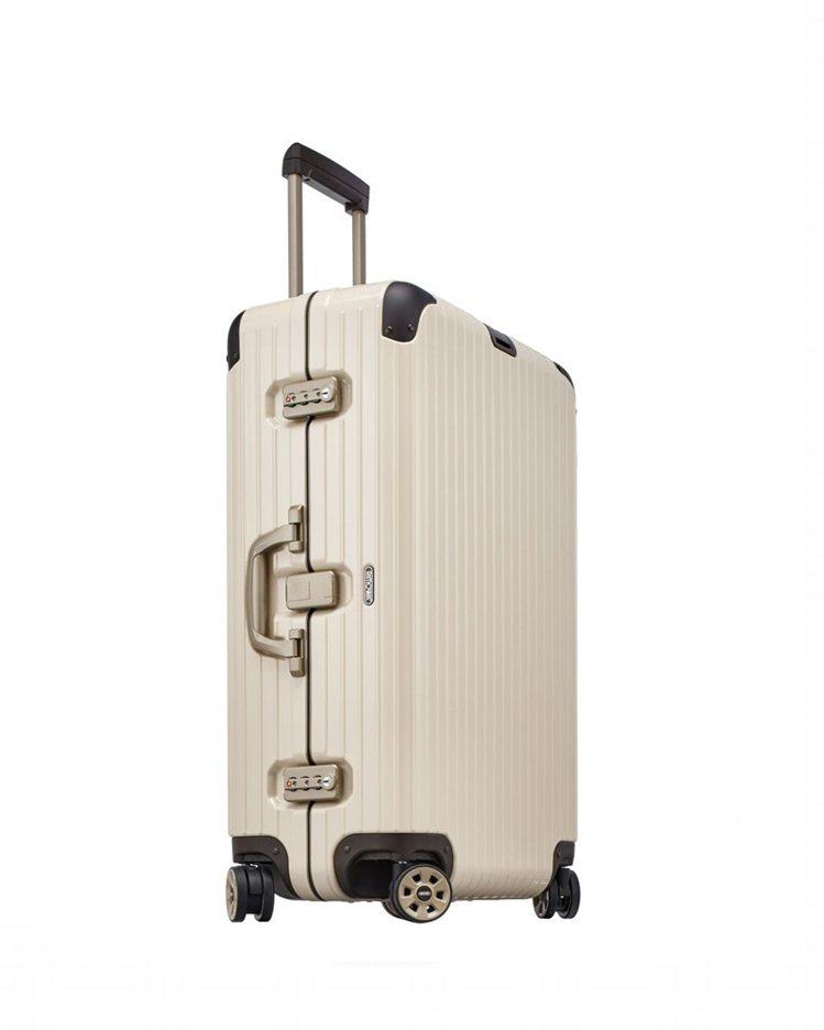 RIMOWA LIMBO系列Crème White奶油白中型旅行箱,約24,9...