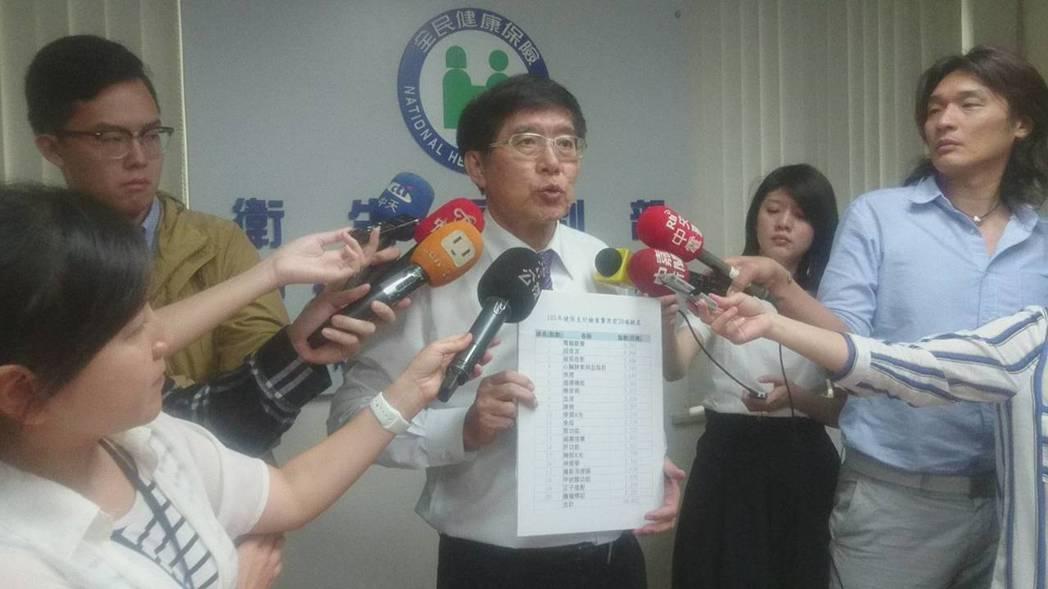 健保署長李伯璋表示,國內過去從未推動分級醫療,健保署今年四月起推動分級醫療新制,...