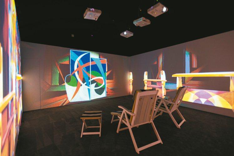 6號展廳《義大利的家居設計》現場陳列。圖/Ferragamo提供