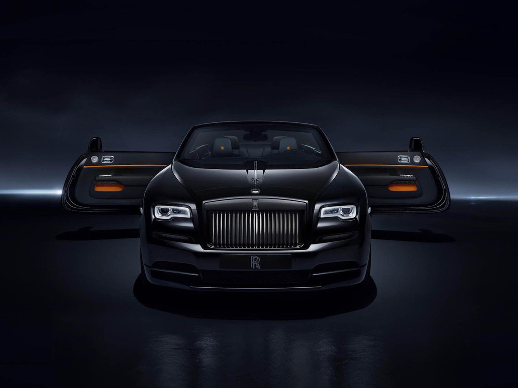 Rolls-Royce Dawn Black Badge。圖/Rolls-Royce提供
