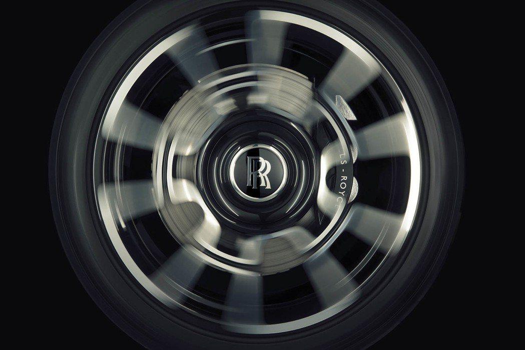 輪圈。圖/Rolls-Royce提供