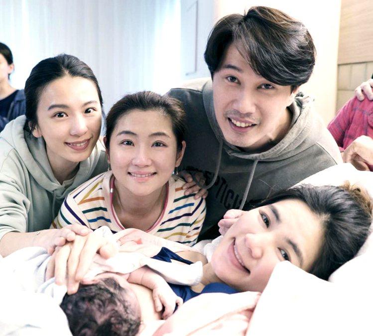Ella四月生下「勁寶」。圖/擷自facebook