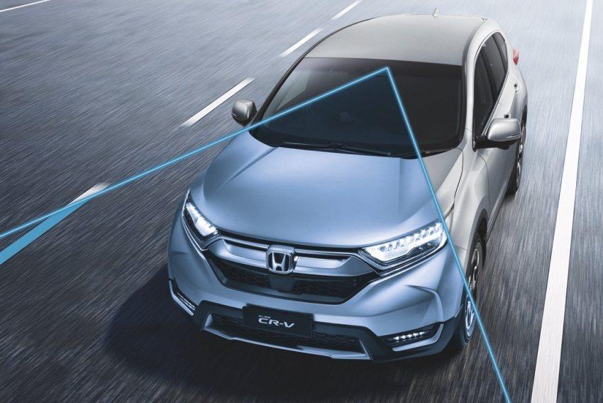 Honda SENSING智慧安全主動防護系統。 圖/Honda提供