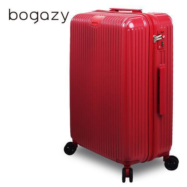 即日起至7/2止,Bogazy 城市行者 25吋電子抗刮PC旅行箱(紅色)特惠價...