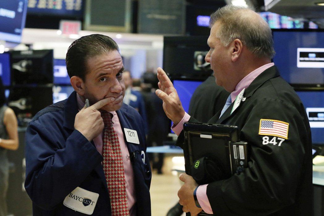 銀行股領漲,美股全面上揚。(美聯社)