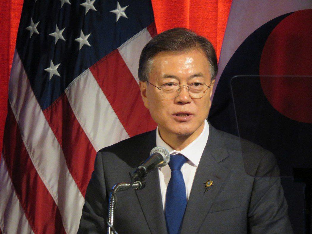 南韓總統文在寅28日在美國華府表示,南韓新政府將在堅強的美韓聯盟基礎上,全力以赴...