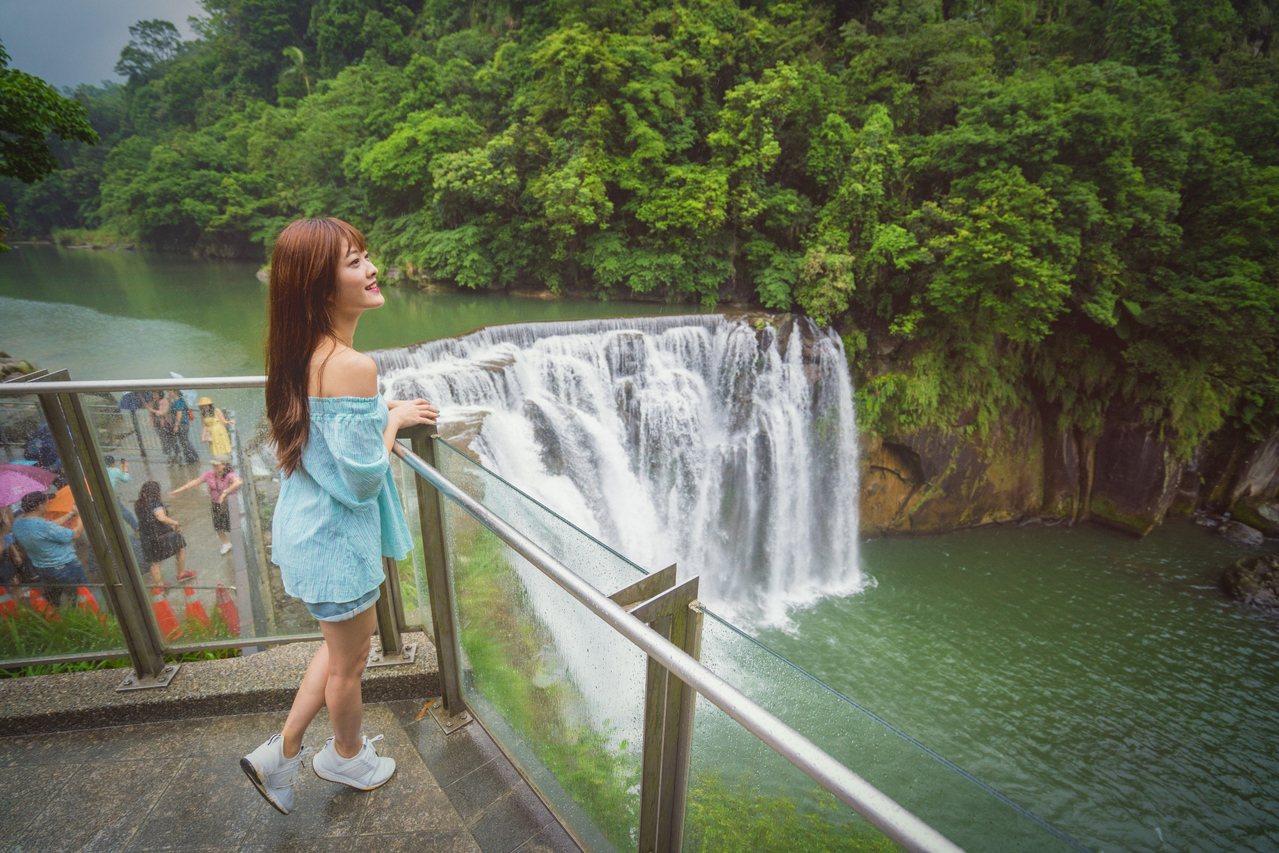 十分瀑布。圖/新北市政府觀光旅遊局提供