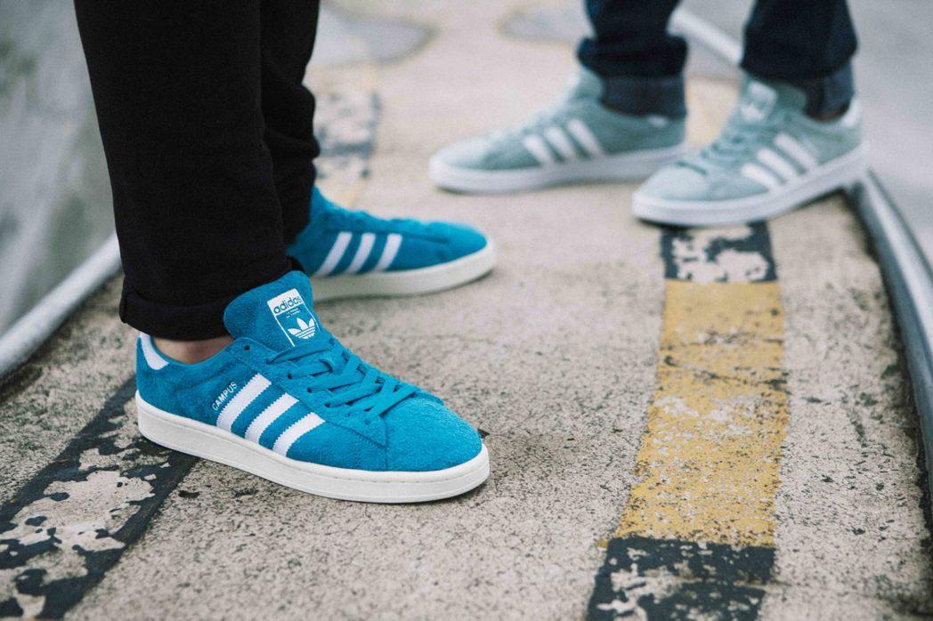 adidas Originals CAMPUS男鞋鞋款。圖/adidas Ori...