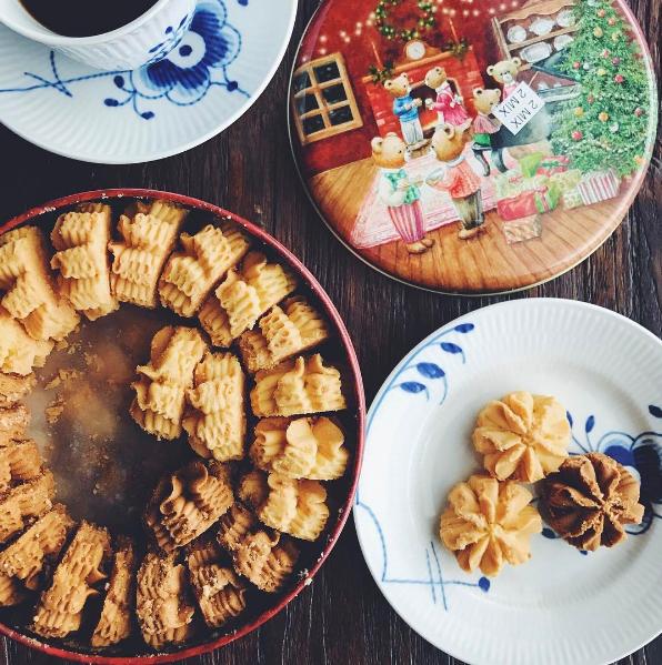 珍妮曲奇聰明小熊餅乾是香港知名排隊伴手禮。圖/摘自IG:justonecookb...