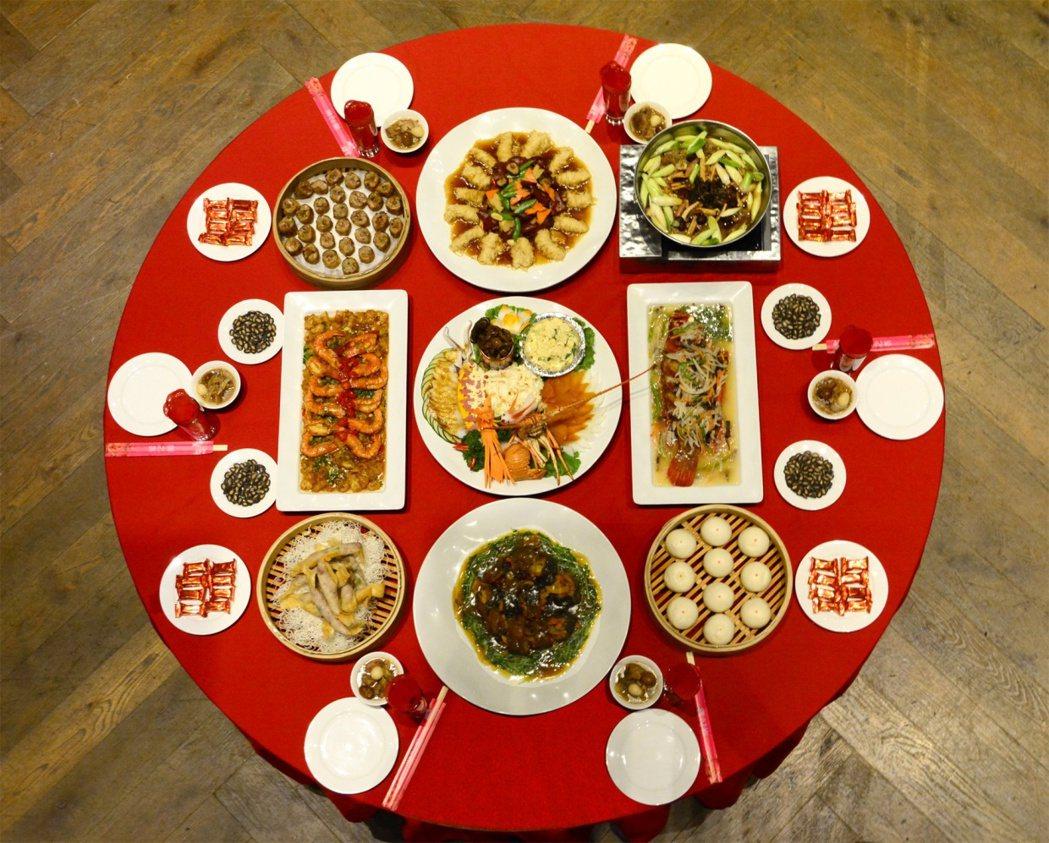 君品感恩宴,重現多道台式經典辦桌菜。圖/君品酒店提供