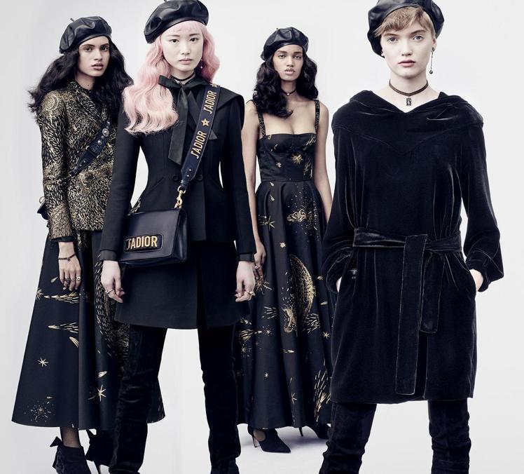 由法國時尚攝影師Brigitte Lacombe掌鏡的2017秋冬Dior形象廣...