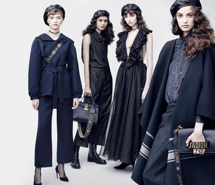 J'Adior包款是2017秋冬重點配件之一。圖/Dior提供