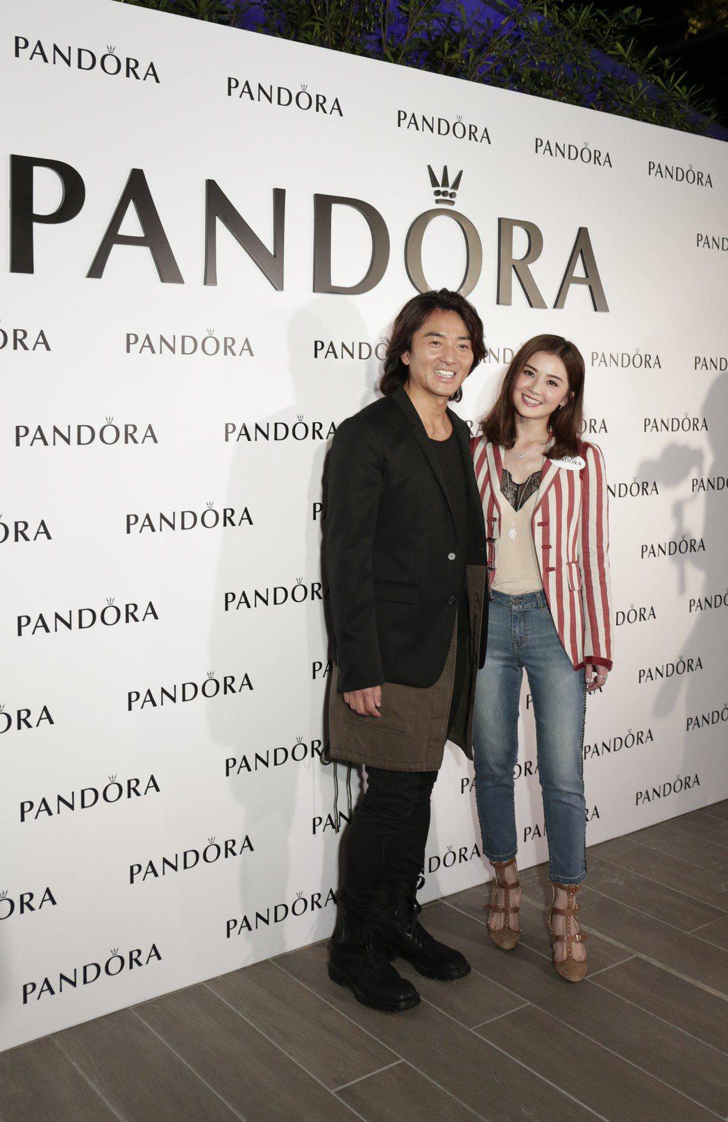 丹麥珠寶品牌PANDORA今日於香港舉辦秋冬媒體預覽和慶祝派對,請到阿Sa蔡卓妍