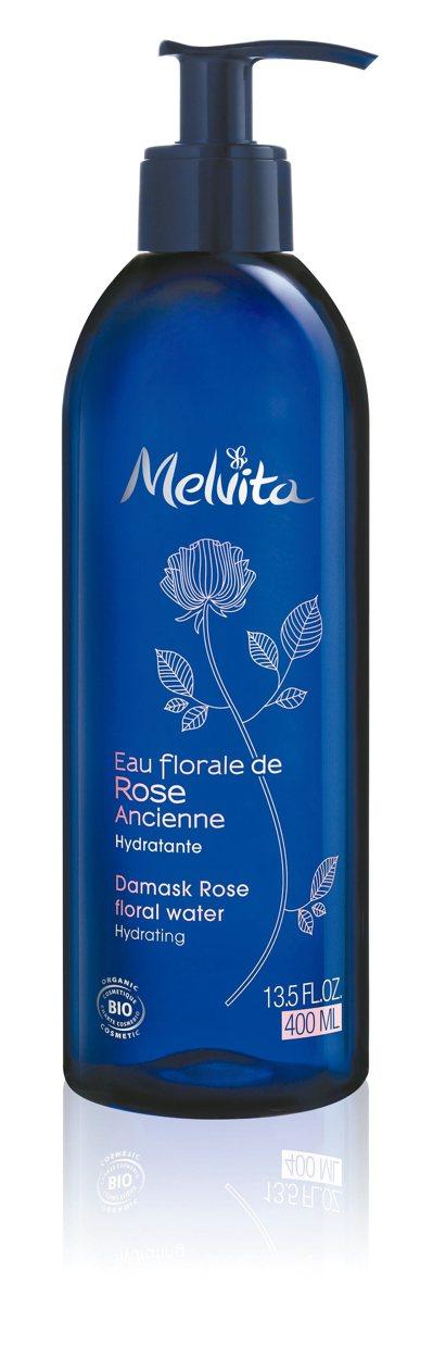 玫瑰花粹400ml亞洲獨家限定。 圖/Melvita提供