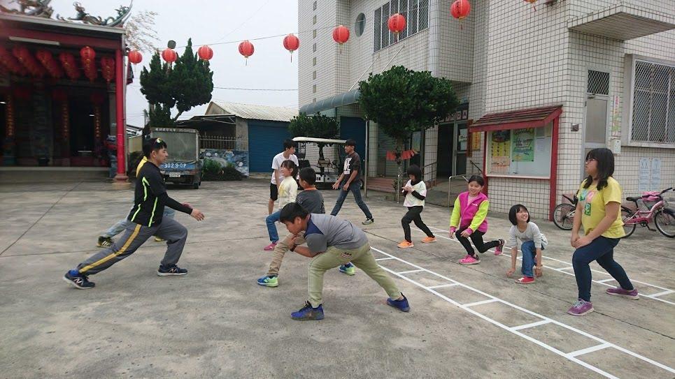 參加路跑的孩子們都要加入訓練。 圖/鄭堯仁提供