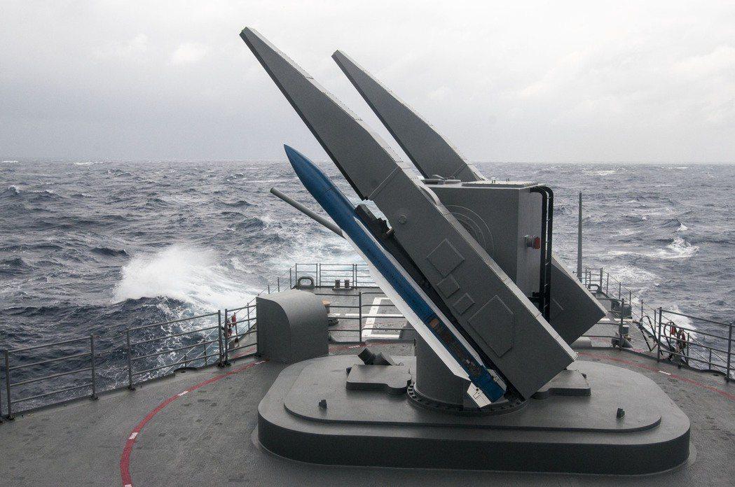 標準二型飛彈。圖/本報系資料照片