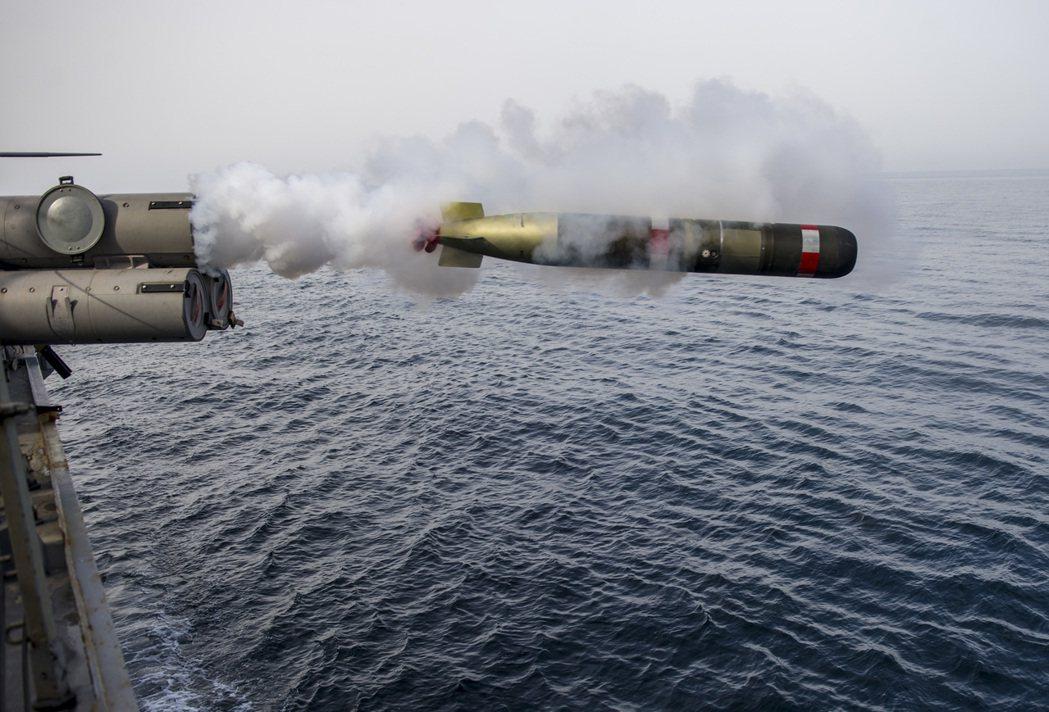 Mark 54 魚雷。圖/翻攝自網路